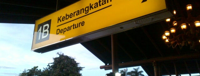 Terminal 1B is one of Soekarno Hatta International Airport (CGK).