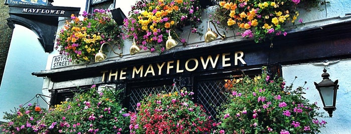 The Mayflower is one of London Pint.