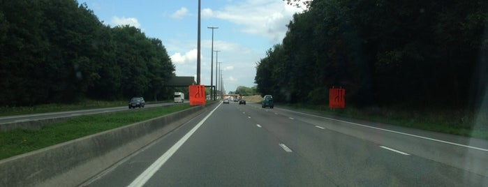 E42 x R3 - Heppignies is one of Belgium / Highways / E42.