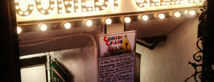 Comedy Cellar is one of 2012 - New York.