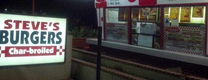 Steves Burgers is one of Food & Drinks.