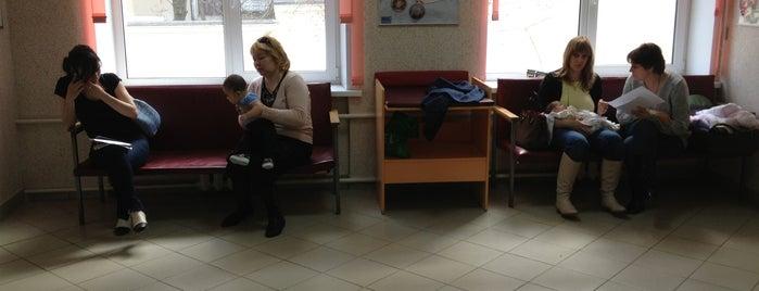 Детская поликлиника № 38 (филиал № 2) is one of Поликлиники ЗАО, ВАО, ЦАО.