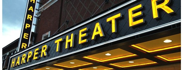 Harper Theater is one of Chicago Favorites.