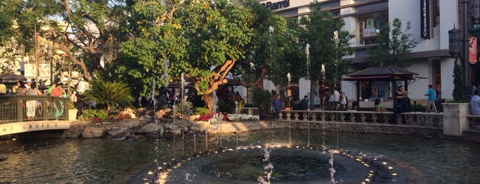 The Grove Water Fountain is one of Guide to Los Angeles's best spots.