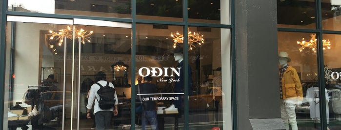 Odin is one of NYC shopping.