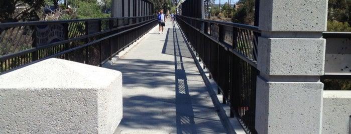 Vermont Street Bridge is one of Bikabout San Diego.