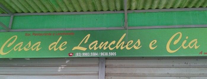 Casa de Lanches e CIA is one of meus locais.