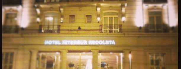 Intersur Recoleta Hotel is one of mia.