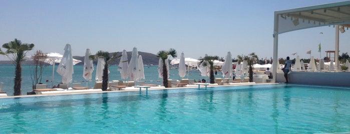 Wyndy Beach Club is one of Alaçatı.