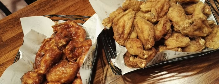 KyoChon chicken is one of Seoul.