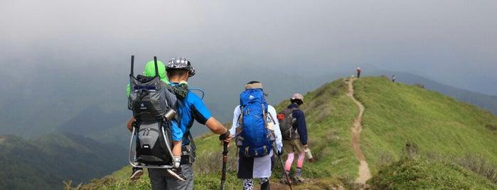 Mt.Jirougyu is one of 四国の山.