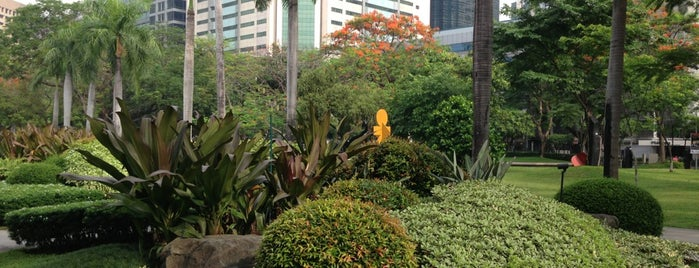 Ayala Triangle Gardens is one of Mabuhay ♥.