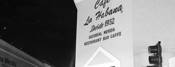Café La Habana is one of Mexico // Cancun.