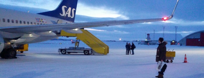 Kiruna Airport (KRN) is one of Airports - Sweden.