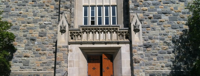 Robeson Hall is one of tech.