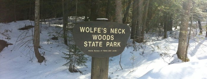 Wolfe's Neck Woods State Park is one of The Great New England Outdoors.