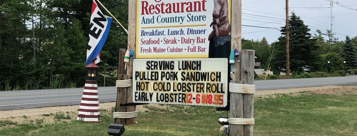 The Log Cabin Restuarant is one of Maine!.