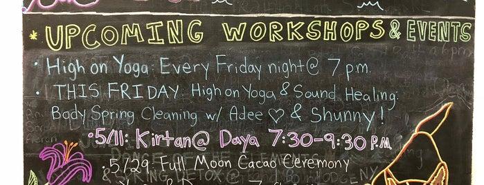 Daya Yoga Studio is one of New York.