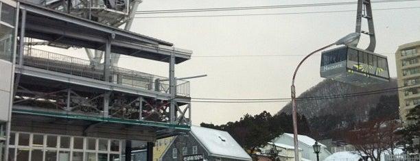 函館山ロープウェイ 山麓駅 is one of 楽.