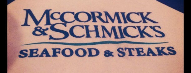 McCormick & Schmick's is one of Dog Friendly Restaurants.