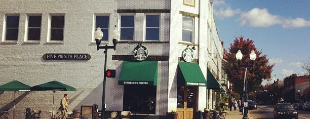 Starbucks is one of Nashville and Franklin.