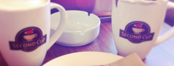 Second Cup is one of Cafenele Bucuresti.