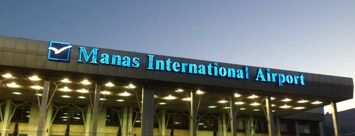 Manas International Airport (FRU) is one of Airports I visited.