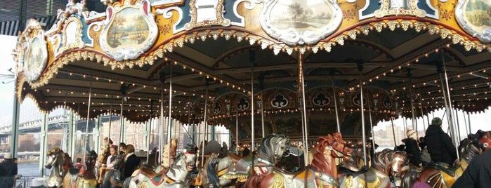 Jane's Carousel is one of New York City.