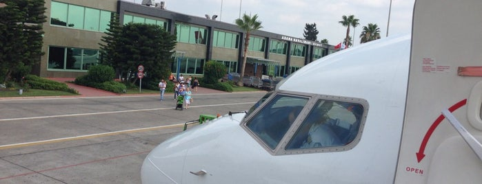 Adana Havalimanı (ADA) is one of ŞubattaAdanaBaşkadır.