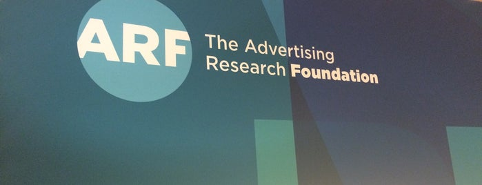 Advertising Research Foundation (ARF) is one of Advertising Agencies.