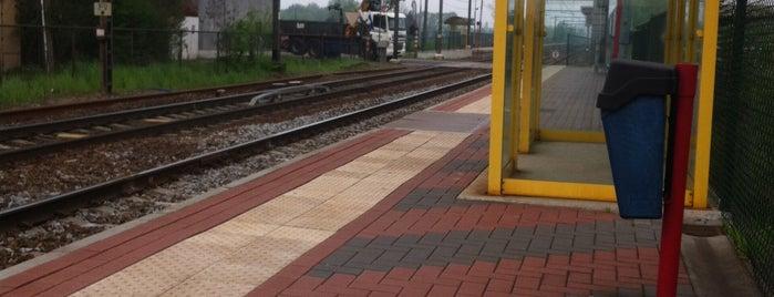 Station Melkouwen is one of Bijna alle treinstations in Vlaanderen.