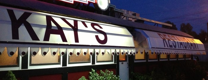 Kay's Italian Resturant is one of Restaurants & places to try.