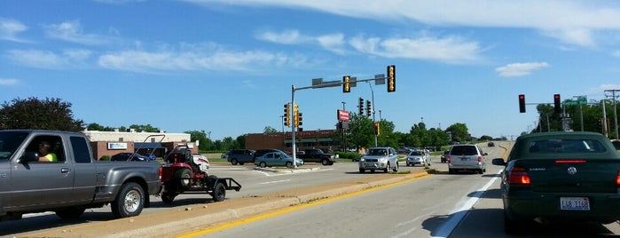 Mulford Road at Riverside Boulevard is one of Work.