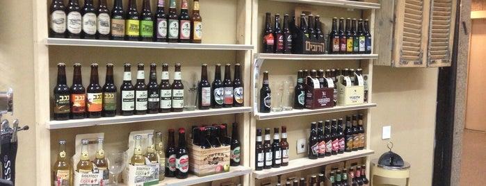 Beer and Beyond is one of Best Beer Places in Tel Aviv.