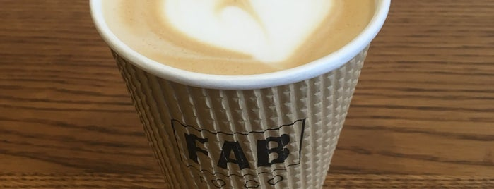 FAB to go is one of Бургеры в Питере.