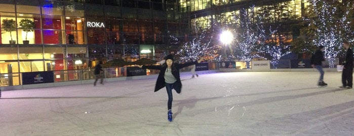 Ice Rink Canary Wharf is one of good to know in london.