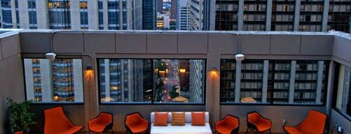 MileNorth, A Chicago Hotel is one of Chi-city Chillin'.