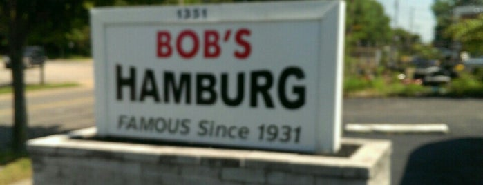 Bob's Hamburg is one of places.