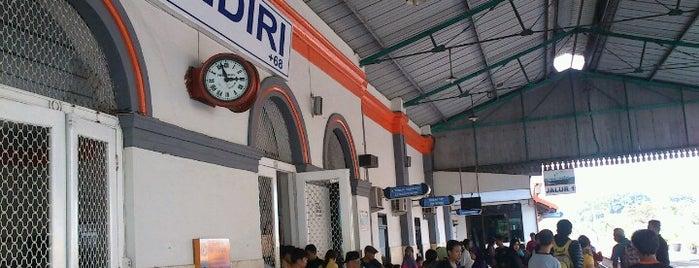 Stasiun Kediri is one of Best places in Kediri, Indonesia.