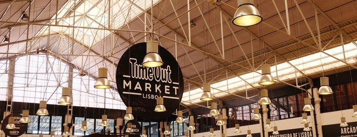 Time Out Market Lisbon is one of Lisbon top food & bar places.