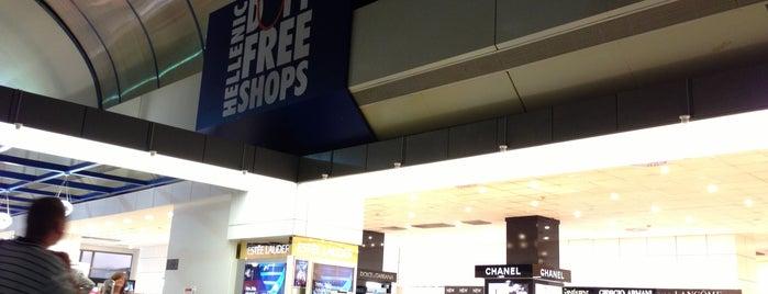 Hellenic Duty Free Shops is one of Trips.