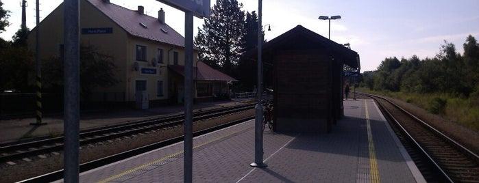 Železniční stanice Horní Planá is one of Železniční stanice ČR: H (3/14).