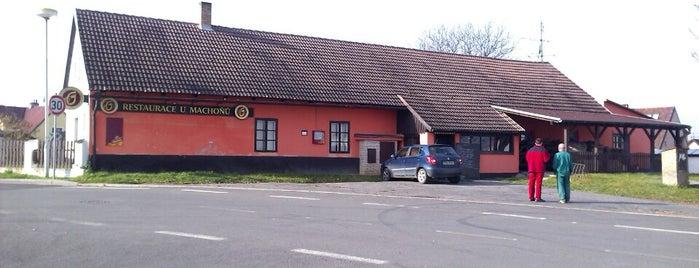 U Machoňů is one of můj seznam míst.
