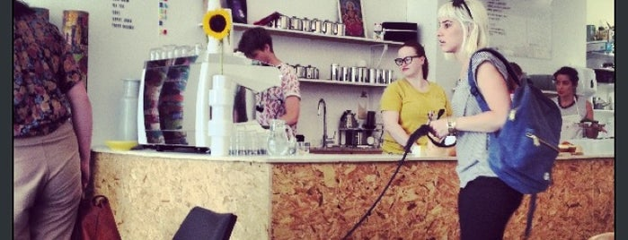 119 Lower Clapton is one of London's Best Coffee.