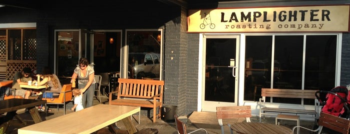 Lamplighter Roasting Co. is one of Go-to spots.