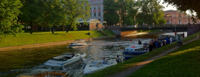 Театральный мост is one of Санкт-Петербург.