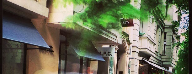 A.P.C Store is one of B.