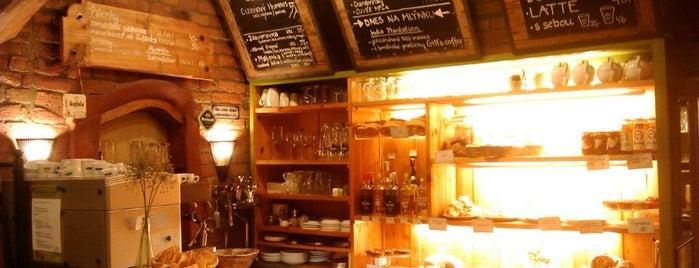 Kavárna a pekařství Zastávka is one of Cafés.