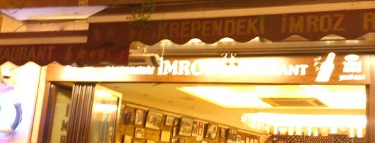 İmroz Restaurant is one of Istanbul Alaturca.