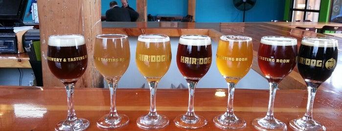 Hair of the Dog Brewery & Tasting Room is one of Beer / RateBeer's Top 100 Brewers [2015].